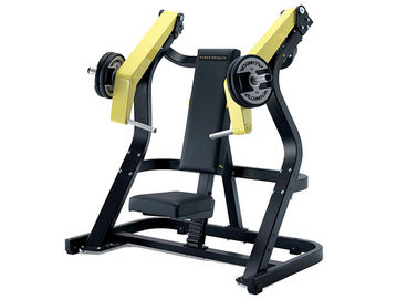 Profesional Hammer Kekuatan Plat Dimuat Peralatan / Incline Chest Press Machine